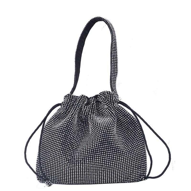 XIYUAN seau perceuse sac embrayage sac à main femmes mode jour embrayages chaîne épaule sacs à main sac à bandoulière dames sacs de soirée formels