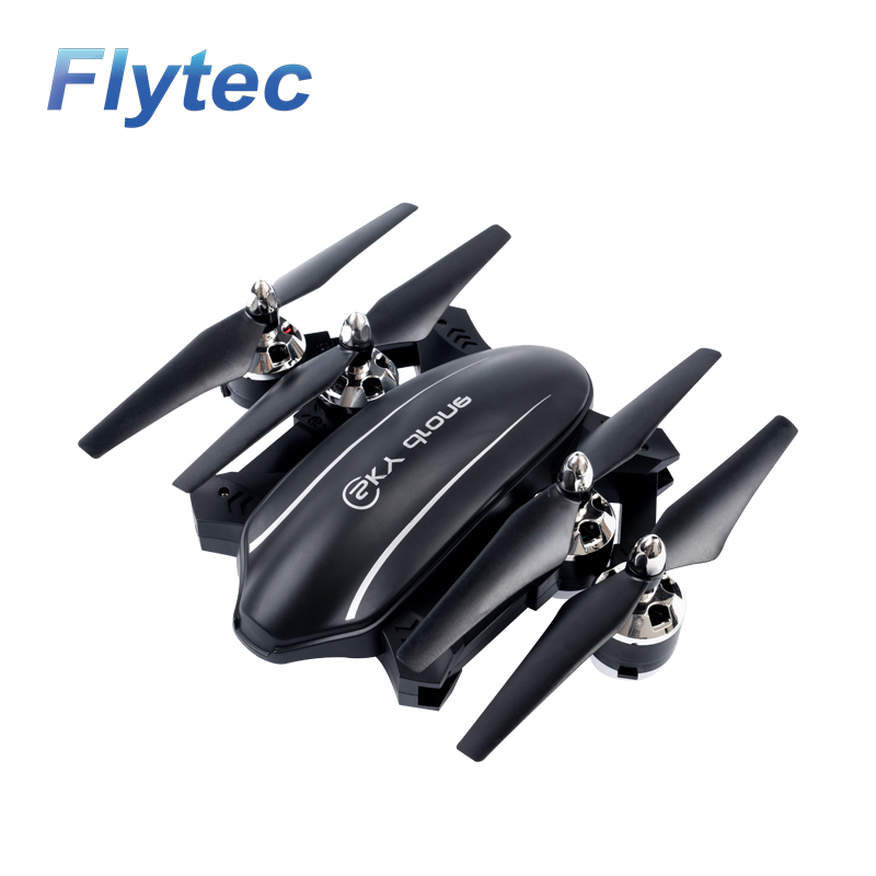 Flytec T22 2.4G Foldable RC Drone with Hover Height Hold Function 4CH 6AXIS GYRO Aircraft original jjrc h28 4ch 6 axis gyro removable arms rtf rc quadcopter with one key return headless mode drone