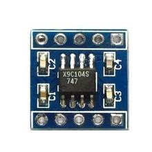 5 шт. x9c104 цифровой потенциометр модуль 100 цифровой потенциометр для регулировки баланса моста