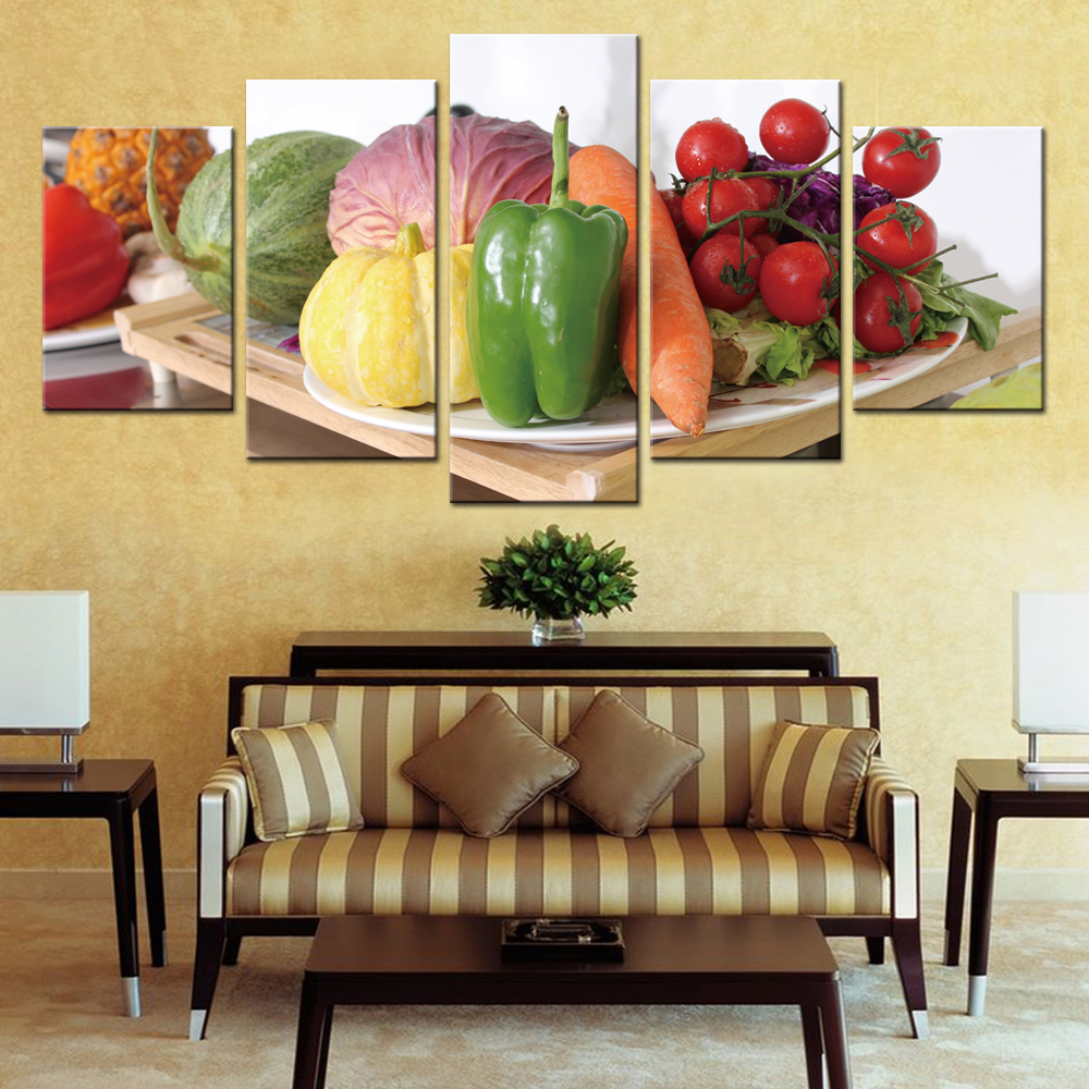 Vegetable Pictures Modern Home Decoration Poster Wall Art for ...