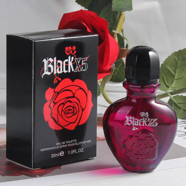 30ml Black X5 Natural Lady Parfum Fragrances Antiperspirants Women Fragrance Lasting Female Perfumed Original Liquid Perfume