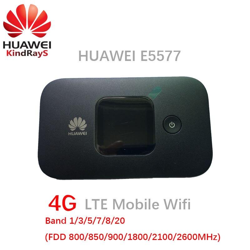 Débloqué huawei e5577 e5577cs-321 routeur 4g sans fil e5577s lte bande wi-fi modem routeur 3g 4g wifi routeur avec sim carte slot