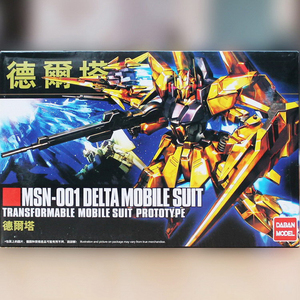 Image 2 - DABAN Model 1/144 HGUC Gold Plated Delta DELTA GUNDAM Out of Print Rare Spot Deformable Action Figure Kids Assembled Toy Gifts