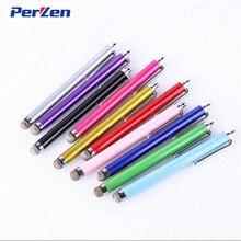 3000 stks/partij Kleurrijke Universele Capacitieve Doek Stylus Touch Handschrift Pen voor iPhone 5 4s 6s plus voor iPad Mobiele telefoon