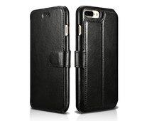 New ICARER Brand Original Leather Wallet Case For Apple Iphone 7 Plus 5 5 Inch Flip