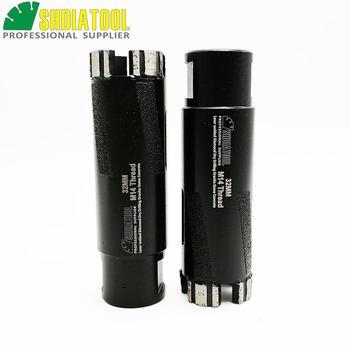 цена на SHDIATOOL 2pcs Dia 32mm M14 Laser Welded Diamond Dry Drilling Core Bits With Side Protection Drill Bits Drilling Bits Hole Saw