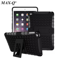 MAX Q 2 In 1 Durable ShockProof Hybrid Heavy Duty Stand Case Cover For Apple IPad