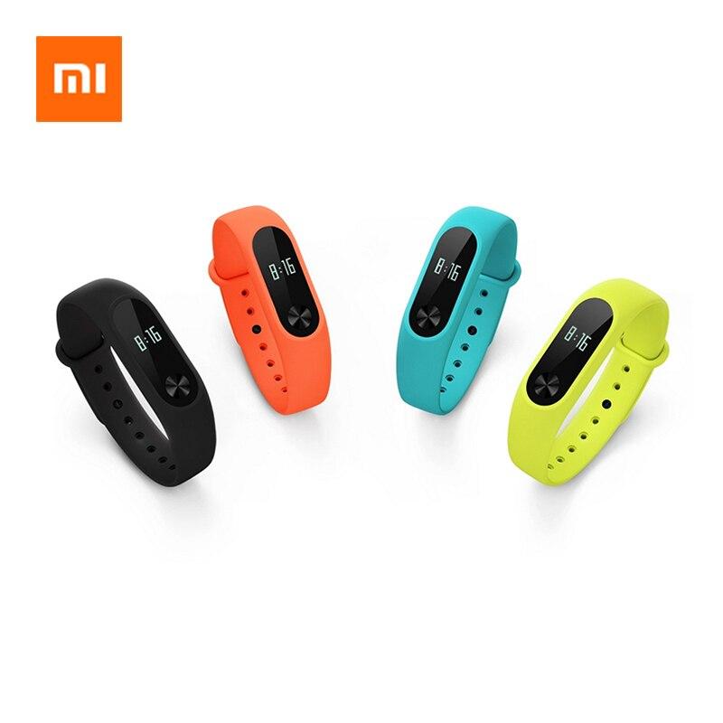 Original Xiaomi Mi Band 2 OLED Screen Touch Operation Wristband Heart Rate Fitness Tracker Smart Bracelet