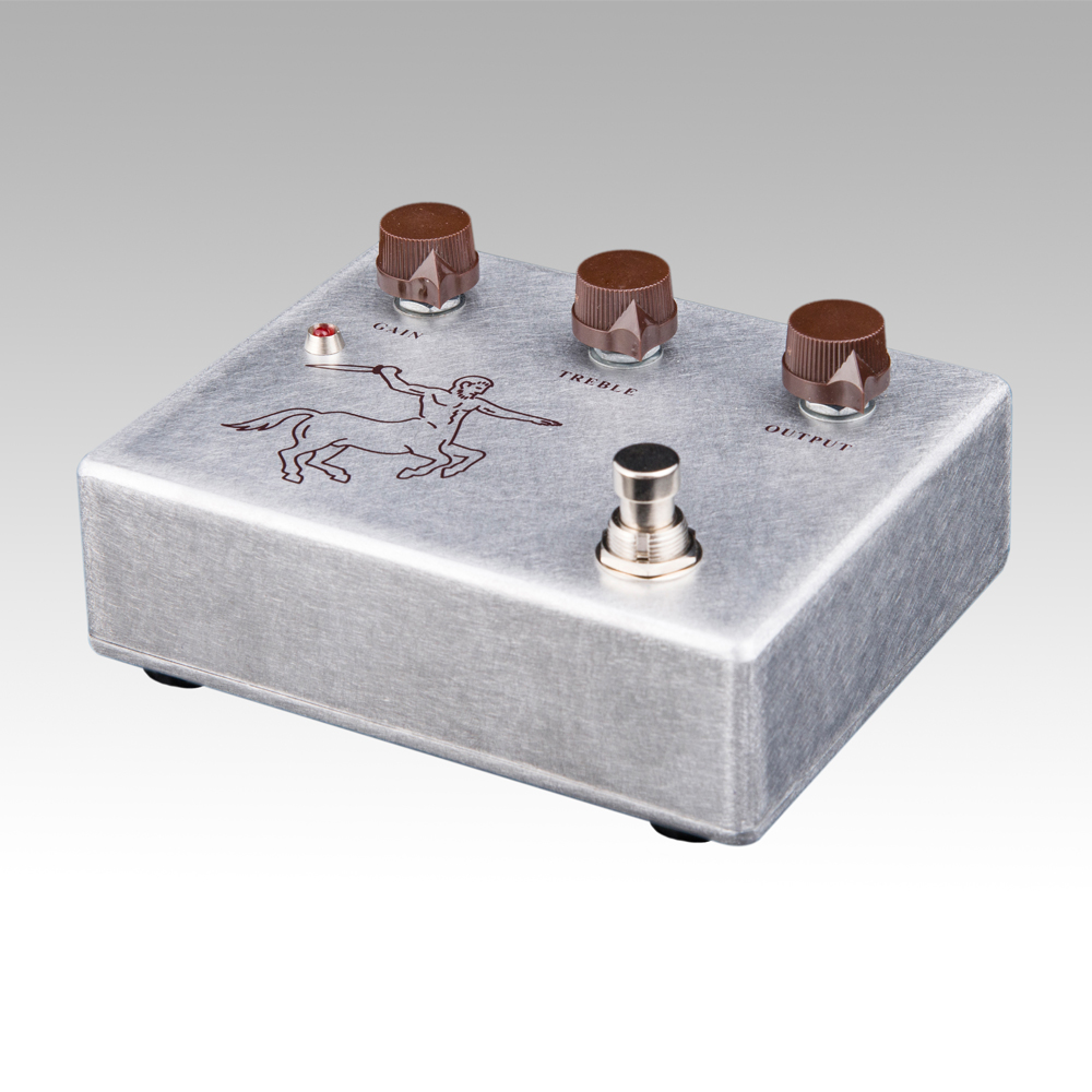 Klon Centaur Silver Professional Overdrive Guitar Effect Pedal True bypass Free Shipping diy klon centaur professional overdrive effect pedal kits project box enclosed case