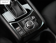 Accessories For Mazda CX-5 CX5 2017 2018 Multimedia Button / Electrical Hand Park Brake Molding Cover Trim 1 Pcs