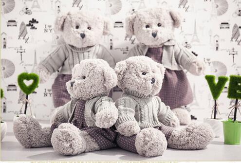 Teddy Bear Plush Toy Soft Animal Staffed Doll Big Size Birthday Kid Gift New Arrival 2017 Hot Sale LL-Bear