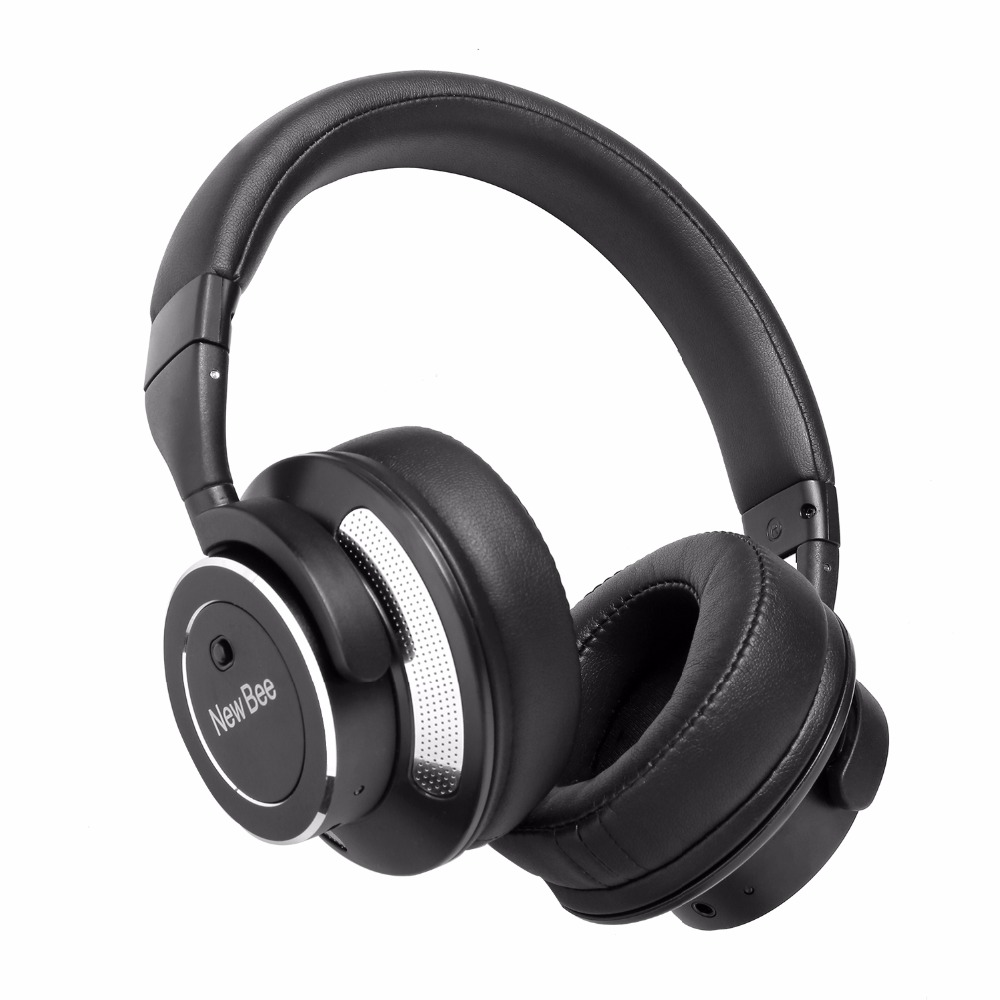 New Bee NB88 Noise Cancelling Music Headphone Wireless Bluetooth Headphone Sport Stereo Headband Headset with Mic for Smartphone plufy bluetooth earphone headphone wireless speaker sport headphone bass stereo headset noise cancelling for iphone xiaomi l29