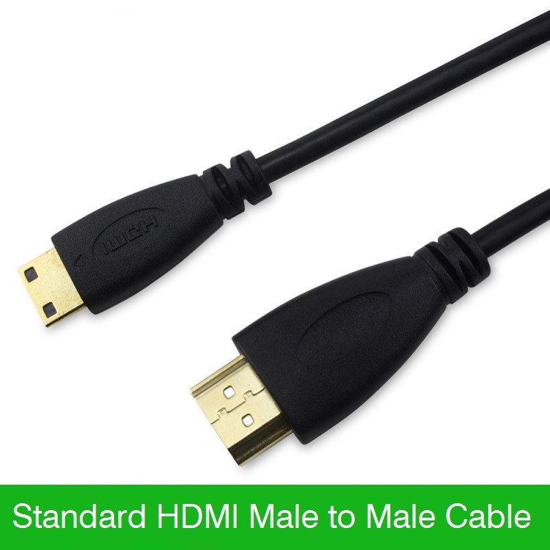 Mini-HDMI-Cable-1M-1-5M-3M-5M-HDMI-Cable-Male-to-Male-1-4V-1080P