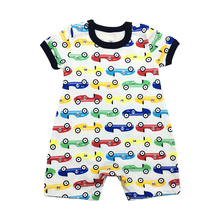 2018 New Baby Boys Romper Animal style Short Sleeve infant rompers Jumpsuit cotton Baby Rompers Newborn Clothes Kids clothes