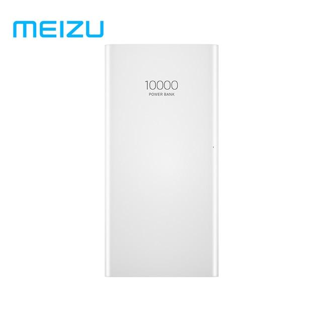 Оригинальный Meizu 10000 mAh Мощность банк 3 внешних литий-ионный полимерный Батарея 2 USB быстрая зарядка Мощность банка для Xiaomi Mi iPhone X