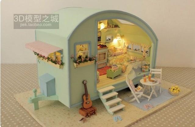 tienda online dollhouse diy modelo de mini casa edificio hechos a mano regalo de cumpleaos nias regalo de navidad envo gratis para nios mini toy