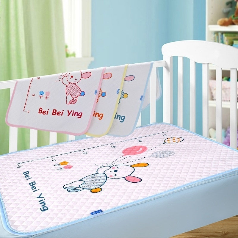 New Arrival Cotton Baby Infant Travel Home Waterproof Urine Mat Cover Changing Mat Baby Care Products 35x45cm