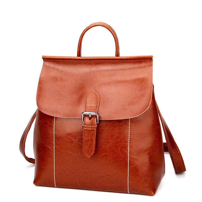 Genuine Leather Women Backpacks Mochila Chica Cow Leather Casual School Backpack For Teenagers Laptop Book Backpacks sac a dos chsanato fashion backpacks women school bags for teenagers girls leather backpack brands mochila sac a dos