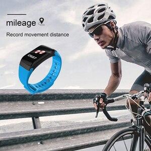 Image 5 - NAIKU F1Plus Bracelet intelligent couleur écran pression artérielle Fitness Tracker moniteur de fréquence cardiaque bande intelligente Sport pour Android IOS