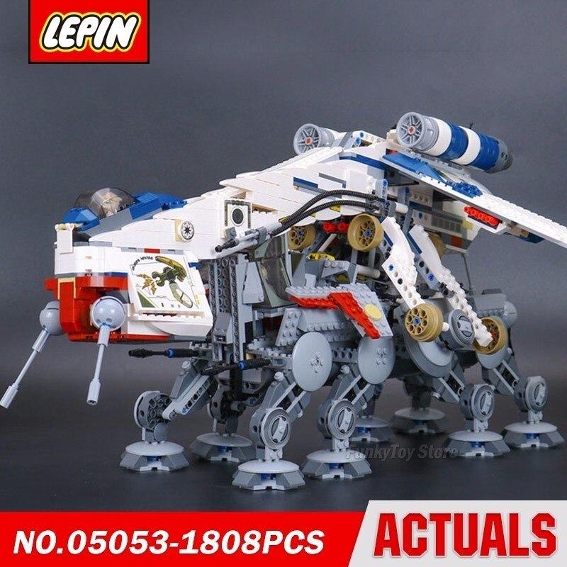 Lepin 05053 At-ot Walker 10195 Star Series Wars Model Building Block Brick Kits Assembling Compatible Gift