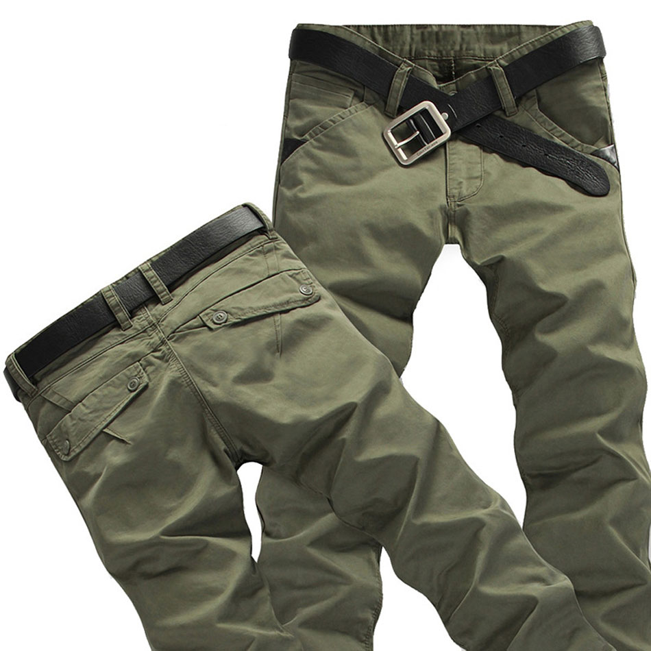 2020 New Arrivals Mens Rugged Cargo Pants Silm Fit Milltary Army Overalls Pants Tactical Casual Trousers Hot Sale