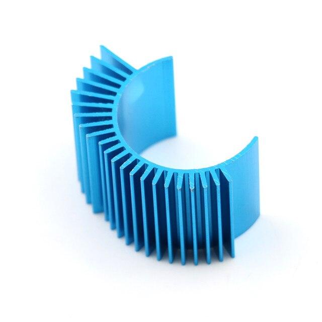 Wysokiej jakości silnik chłodzenia radiator radiator Top wentylowane 540 545 550 rozmiar dla 1/10 RC samochodów