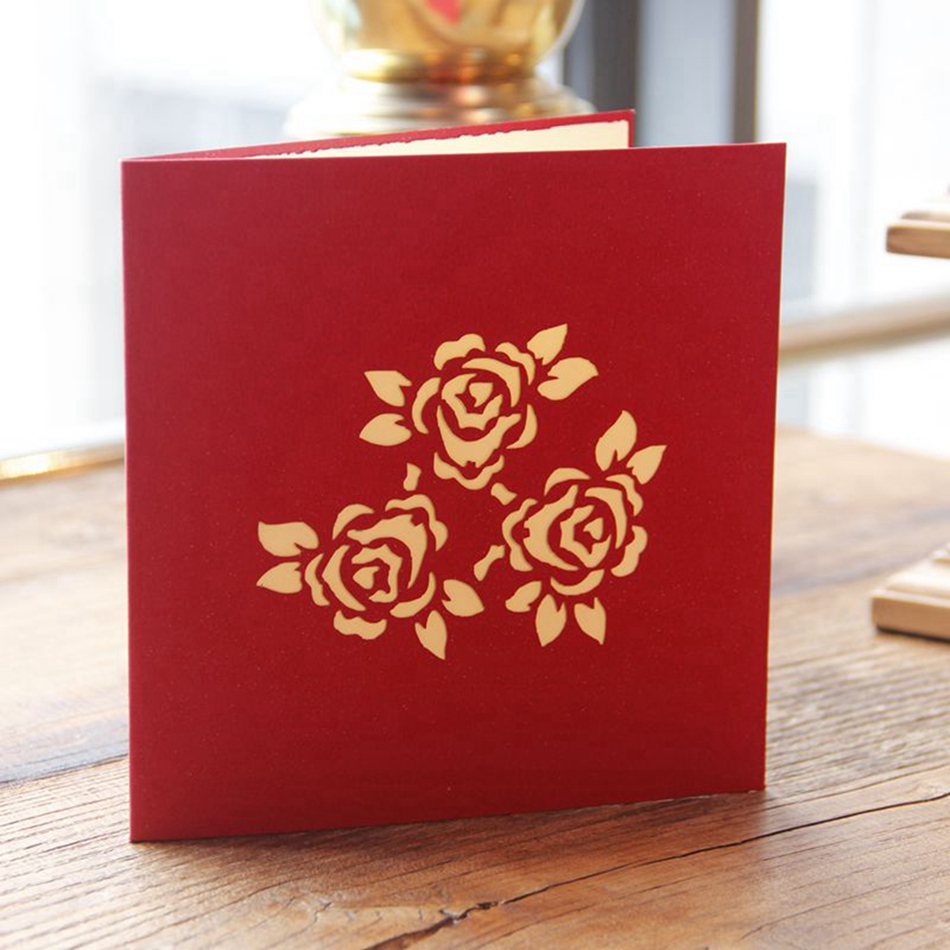 Thank you cards postcard with envelopes 3d pop up paper laser cut thank you cards postcard with envelopes 3d pop up paper laser cut birthday greeting card mothers day gift for lover flowerpot in cards invitations from jeuxipadfo Images
