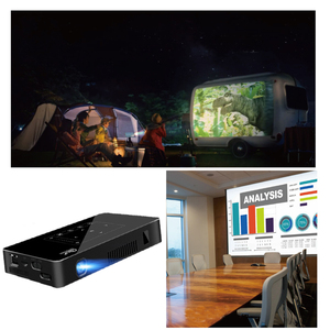 Image 5 - Smartldea P10 미니 스마트 DLP 프로젝터 안드로이드 9.0 wifi 비머 블루투스 4K 내장 배터리 터치 키 Airplay Miracast DLNA