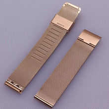 new Milanese Watchband 16mm 18mm 20mm 22mm 24mm Universal Stainless Steel Metal Watch Band Strap Bracelet Black Rose Gold Silver