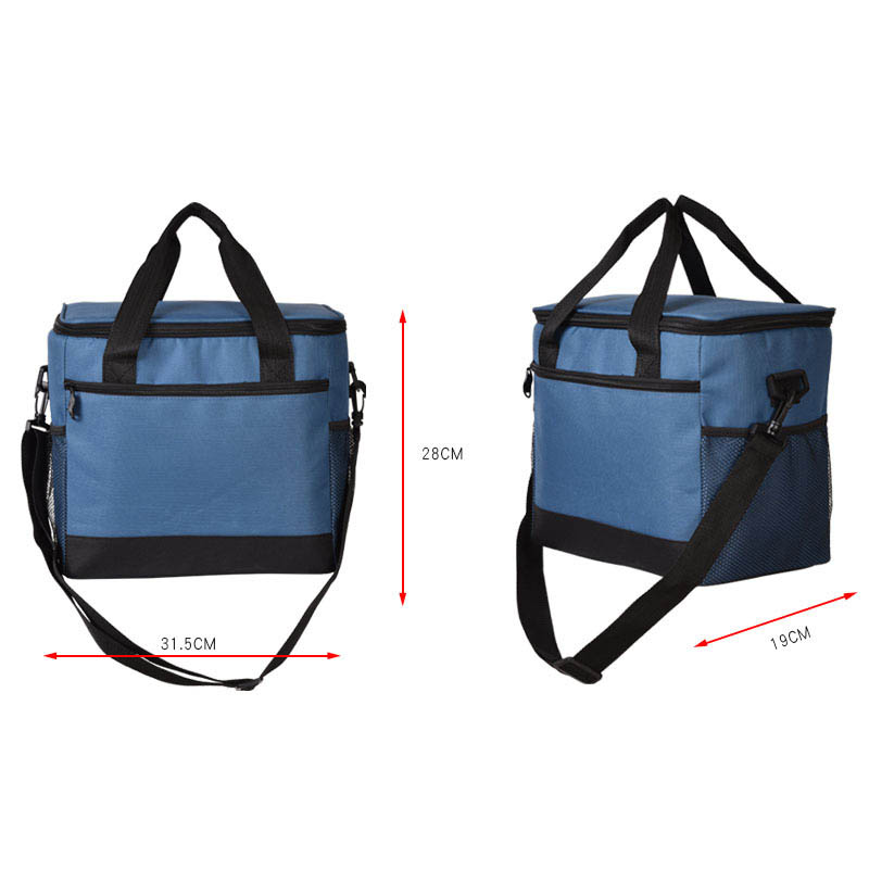 17L Picnic Box Bags Lunch Cooler Bag Insulated Portable Reusable Lunch Bag for Adults Kids Women Men Beach Barbecue Camping