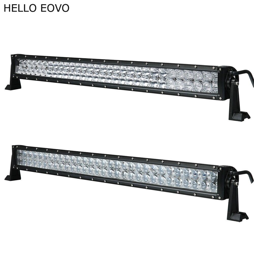 BONJOUR EOVO 4D 5D 32 Pouce 300 W LED Barre Lumineuse pour Travail indicateurs de Conduite Offroad Bateau De Voiture Tracteur Camion 4x4 SUV ATV 12 V 24 v