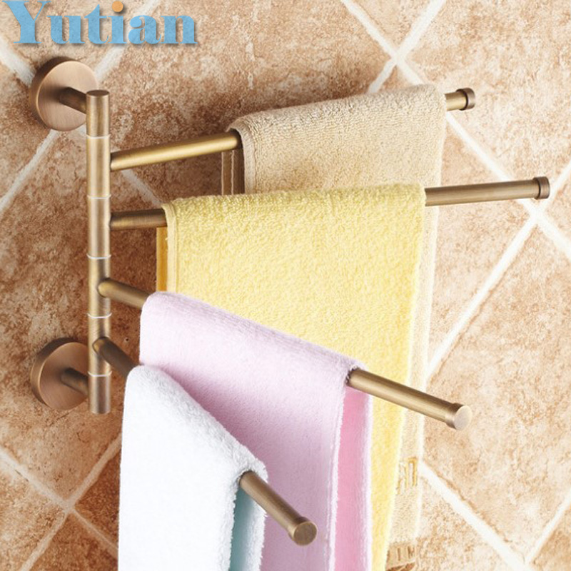 Free Shipping,fashion, brand new,high quality solid brass bathroom accessory,Movable Towel bars,Towel rail, whole sale & retail lancome
