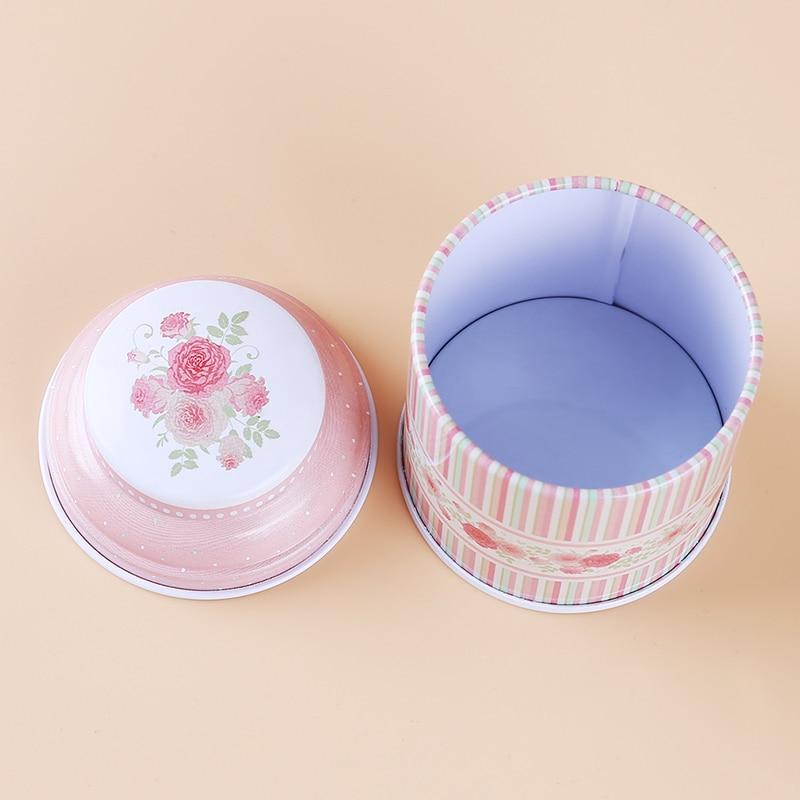 Кухонный домашний декор, металлический Цветочный кофе, чай, сахар, контейнер для конфет, банка, жестяная коробка для сортировки, аксессуары для дома