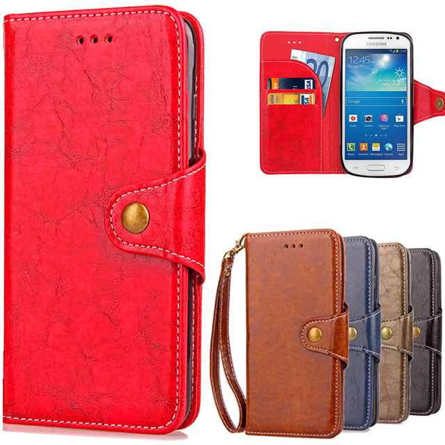 Leather Flip Case For Samsung Galaxy S3 S 3 S iii Neo i9300 i 9300 i9301 Duos i9300i GT-i9300 i9305 GT-i9301 i9305 Cover Coque