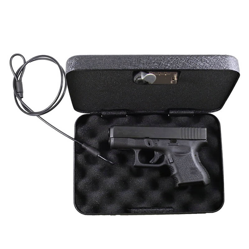Portable Gun ammo Money Safes Box Valuables Jewelry Housekeeper Secret Stash Coffer Military Tactics Munition Security Cache Box