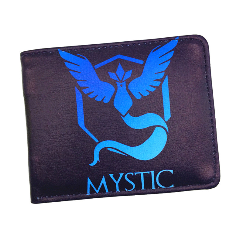 FVIP Hot Game Poke Go Team Valor Team Mystic Team Instinct Poke Wallet  Cartoon Billetera Game Pures d link dvg n5402sp