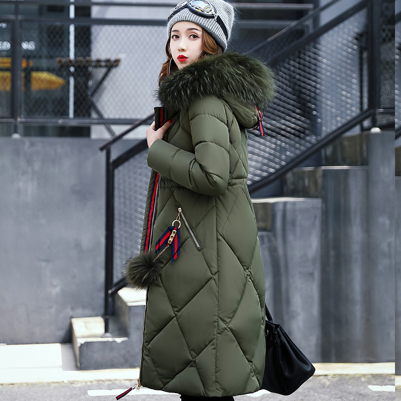Fashion Maternity 2017 wadded jacket outerwear female loose plus size cotton-padded jacket winter medium-long winter thickening new 2017 winter down cotton padded jacket parka outerwear medium long plus size clothing wadded jacket loose thickening female