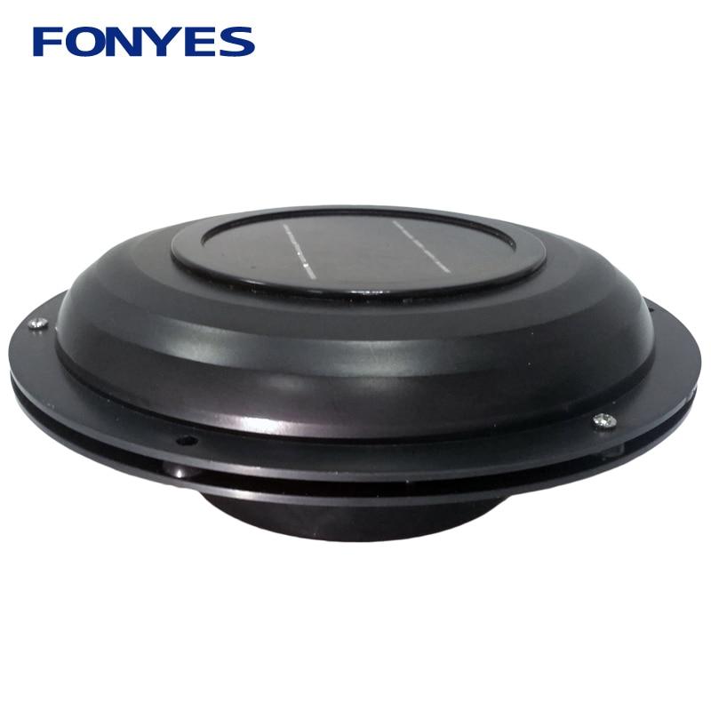 Solar Power Ventilator Air Vent Fan For Caravans Car Boat RV Home Green House Exhaust Ventilation Fan Air Extractor