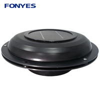 Solar power ventilator air vent fan for caravans car boat RV home green house exhaust ventilation fan air extractor