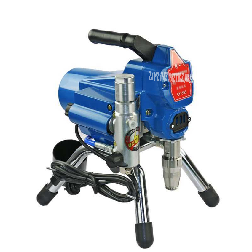 New CY 395 High Pressure Airless Spraying Machine Professional Paint Latex Paint Painting Machine 220V 2200W 2.5L/min 3000PSI
