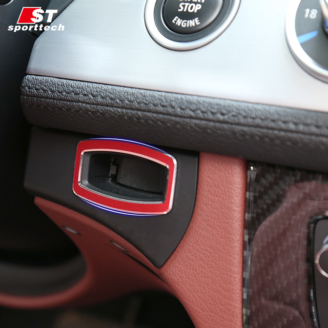 Bmw Z4 Car Cover: Car Styling Ignition Switch Decoration Stickers For BMW Z4