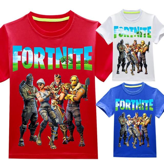 New 2018 boy's t shirt popular Ninja cotton short-sleeved t-shirt printing children's cartoon blue kids boys child's clothes 5