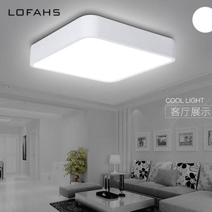 Image 4 - LOFAHS Modern LED ceiling light simple rectangle ceiling fixtures study office dining room bedroom living room led lamp