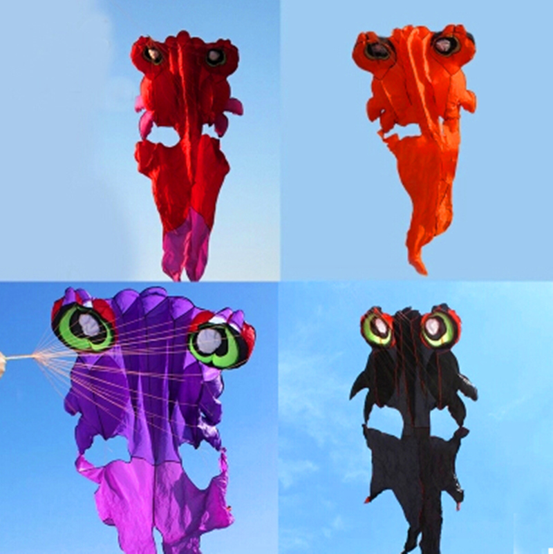 Livraison gratuite de haute qualité nouveau cerf-volant 4.2 m queue de papillon rouge poisson doré cerf-volant doux avec cointrol bar ligne wei cerf-volant usine marche