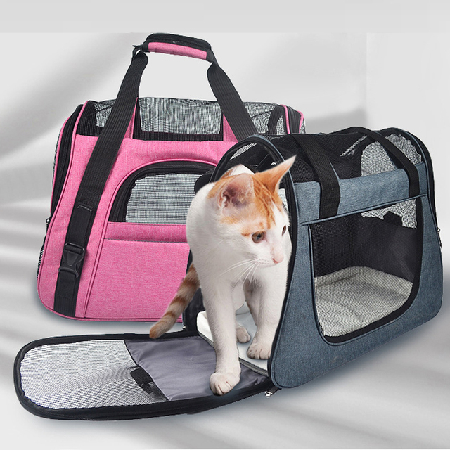 Dog Cat Sling Carrier For Small Dogs Kitten Rabbit Breathable Pet