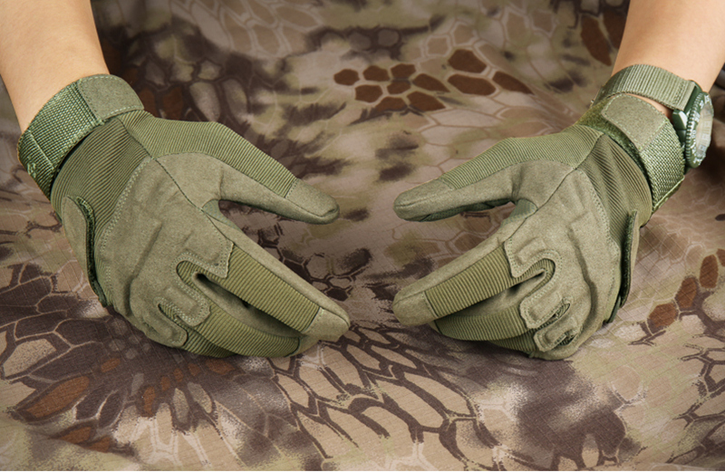 tactical gloves army military equipment outdoor hunting gloves motorcyclist airsoft paintball equipment combat fitness gloves