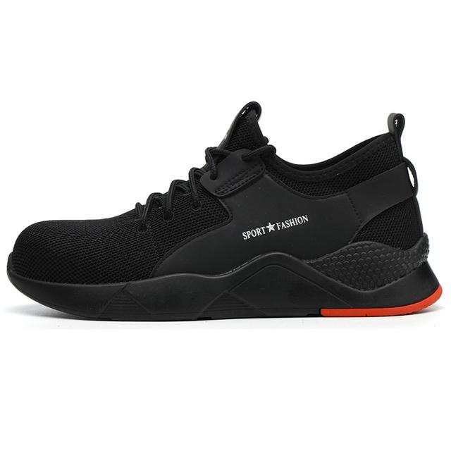 Men's Winter Steel Toe Cap Protective Work Shoes Short Boots