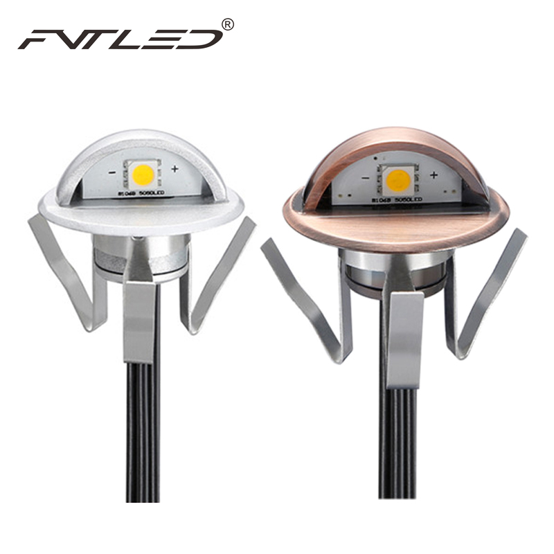Luxury IP65 Half moon LED Step Lights Downwards Lamp Retro Style Body 0 4w LED Garden Path Patio Lightening Small Size Outdoor Lighting New Design - Luxury led yard lights