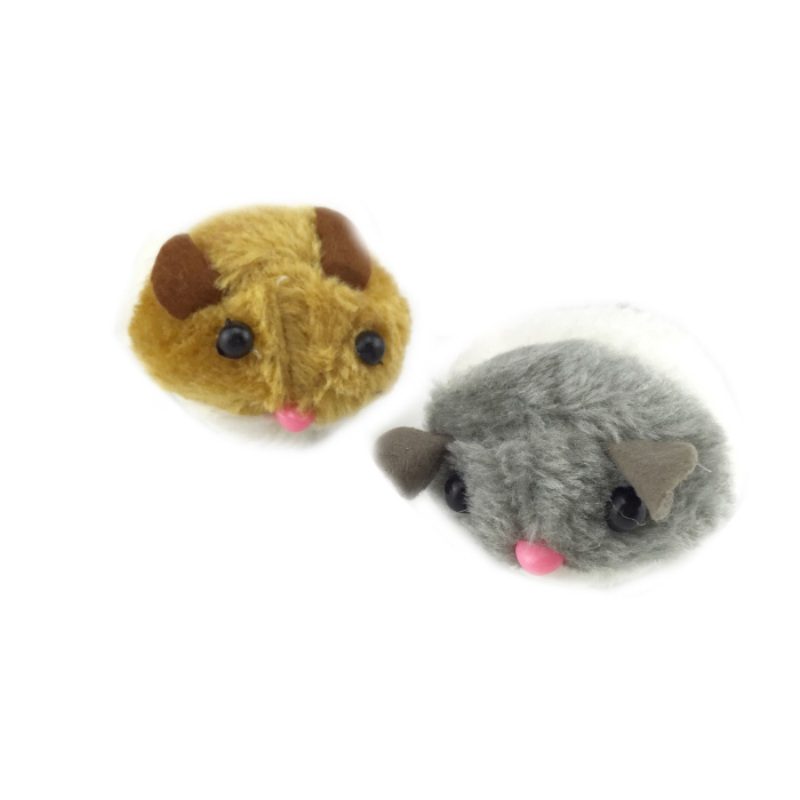 Cats Toy Cat Supplies Artificial Mouse Pet Products Pulling Tail Ring Vibrate Run Forward Shock Shake Interactive #6