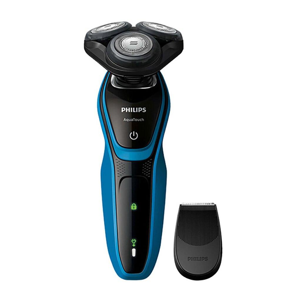 Philips AquaTouch Humide et sec rasoir électrique S5050 Rotatif 3 tête pour Hommes 30 min/9 rase avec La Peau protection Système 100-240 v